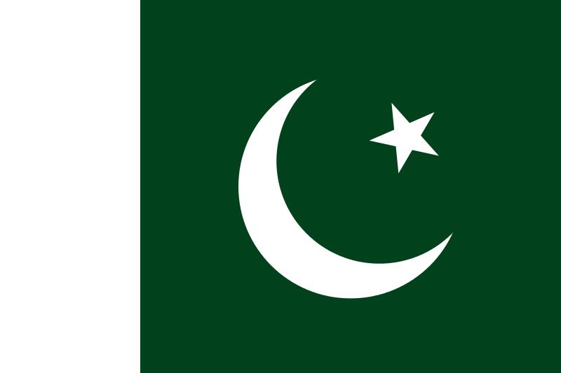 Национальный флаг Пакистана