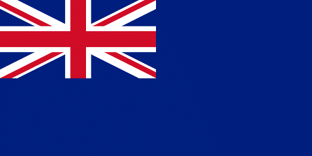 Флаг правительственных судов Великобритании